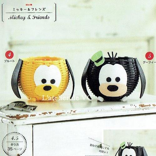T-03 Pluto & Goofy (2pcs)