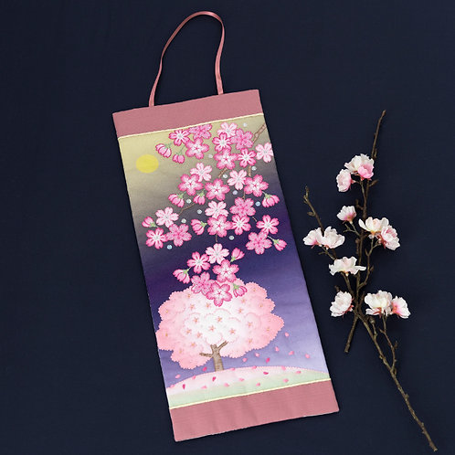 Mini Tapestry <Sakura in the Moonlight>