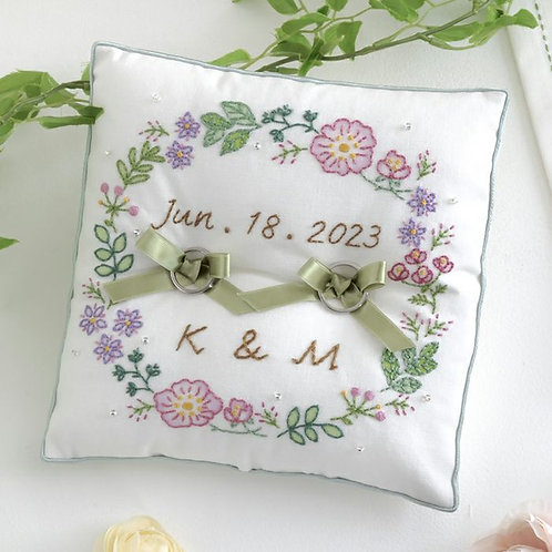 Ring Pillow <Garden>