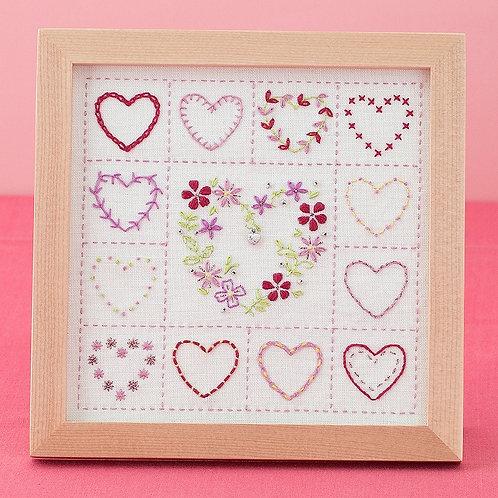 Stitch Frame <Hearts>