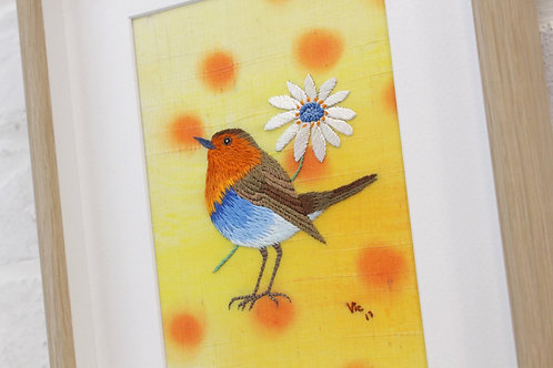 Robin - Japanese Embroidery Course