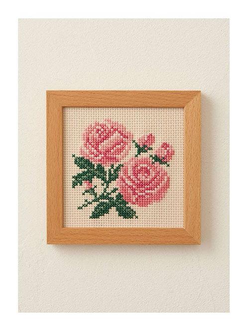 Cross Stitch Frame <Rose>