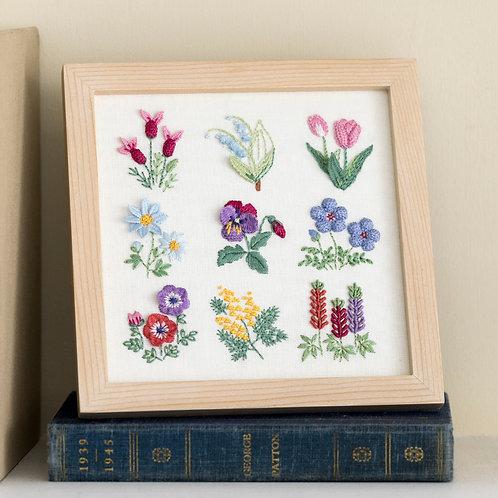 Stitch Frame <Spring Flower>