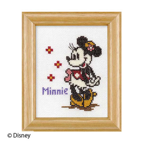 Minnie Mouse Cross Stitch