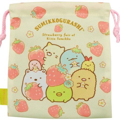 Sumikko Gurashi Pouch - Strawberry