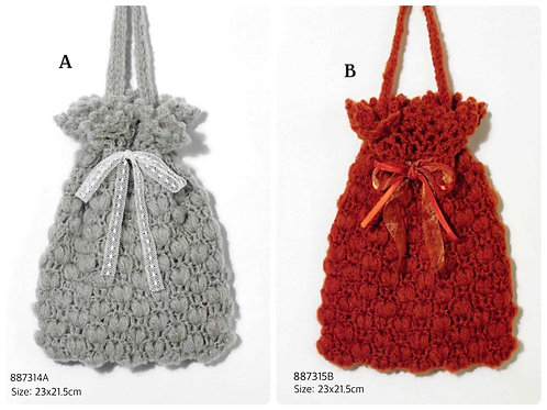 Crochet Bag Material Kit 14A & 15B