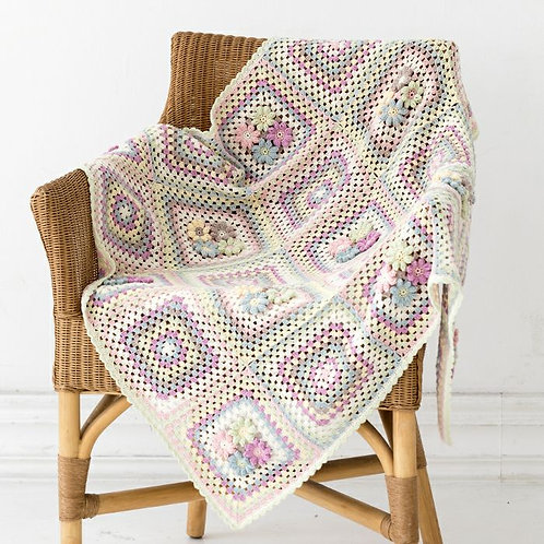 Primula Square Blanket (Material Set)