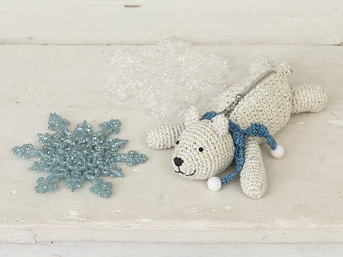 Polar Bear Pouch (Material Set)