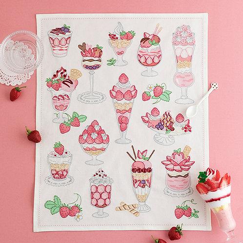 Stitch Cloth <Strawberry Parfait>