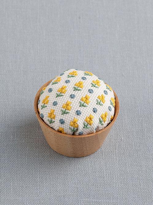 Yellow Flower Pin Cushion