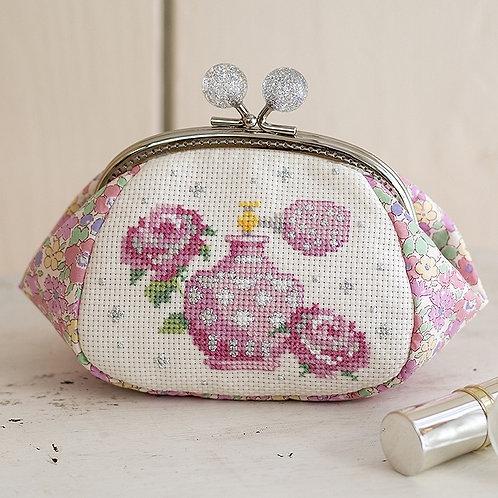 Cross Stitch Pouch <Perfume>