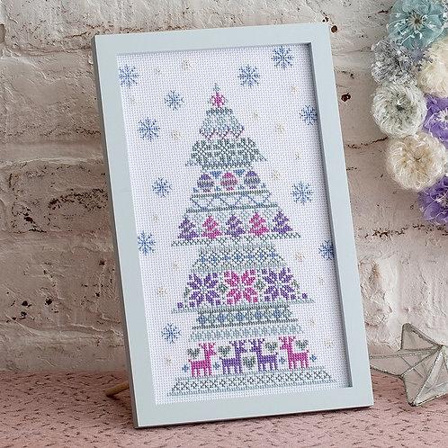 Cross Stitch Frame <Christmas Tree>