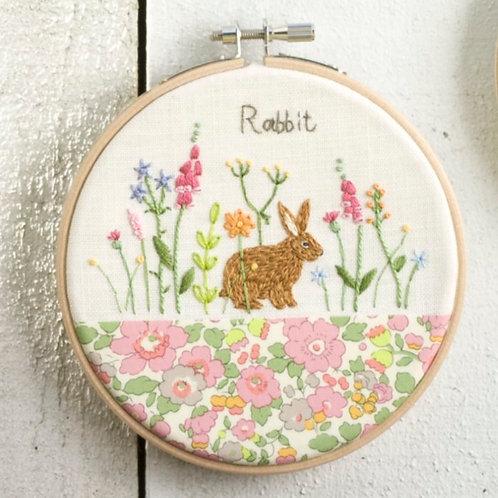 Rabbit Embroidery Kit