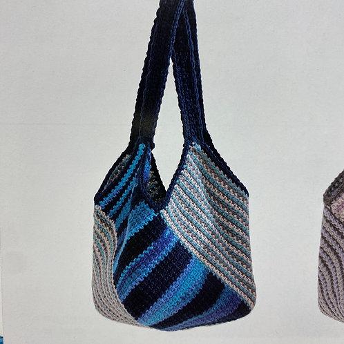 Crochet Bag Material Kit (Blue)