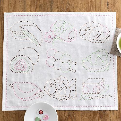 Stitch Cloth <Japanese Sweets>