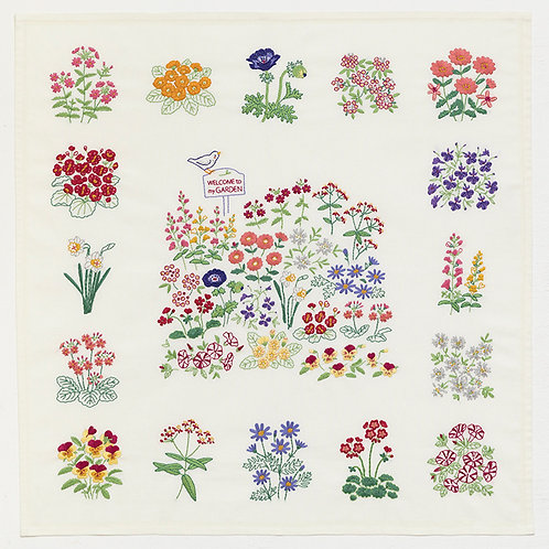 Stitch Cloth <Flower Garden>