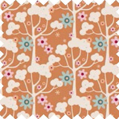 Tilda Wildgarden Honey Yellow Fabric (by 0.5m)
