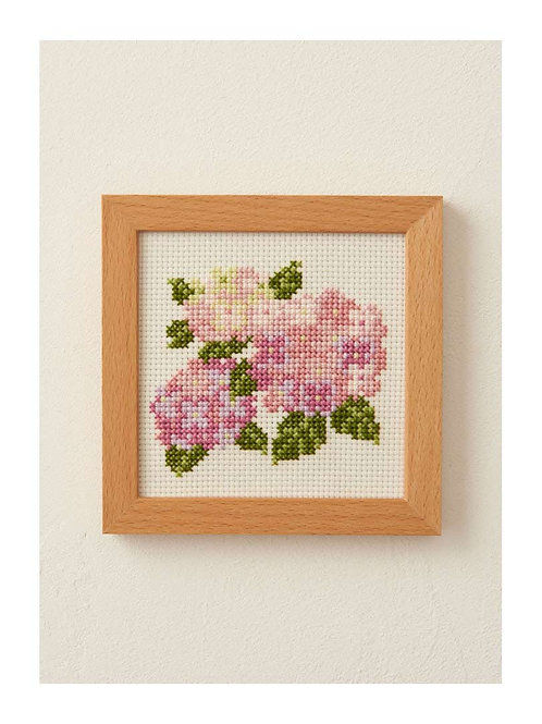 Cross Stitch Frame <Hydrangea>