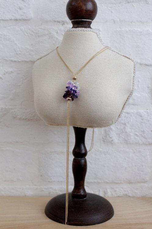 Swarovski Violet Necklace