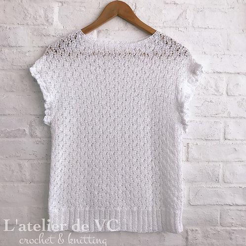Summer Knitting Top
