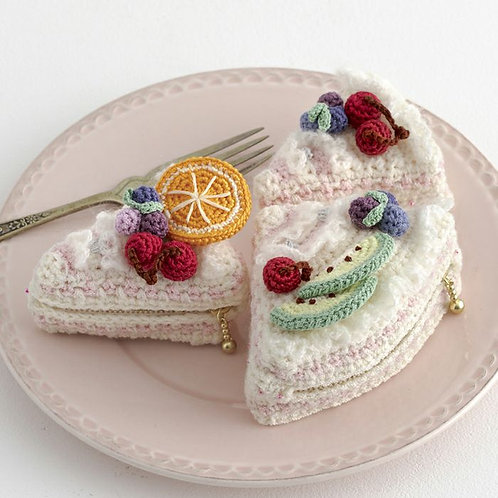 Fruit Shortcake Pouch (Material Set)