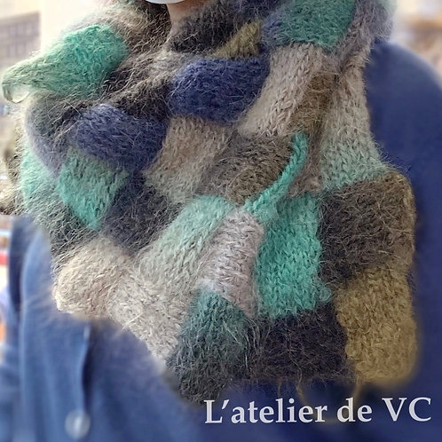 Knitting Scarf Material Kit