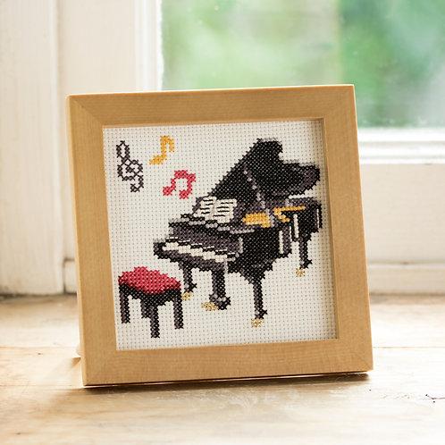 Cross Stitch Mini Frame <Piano>