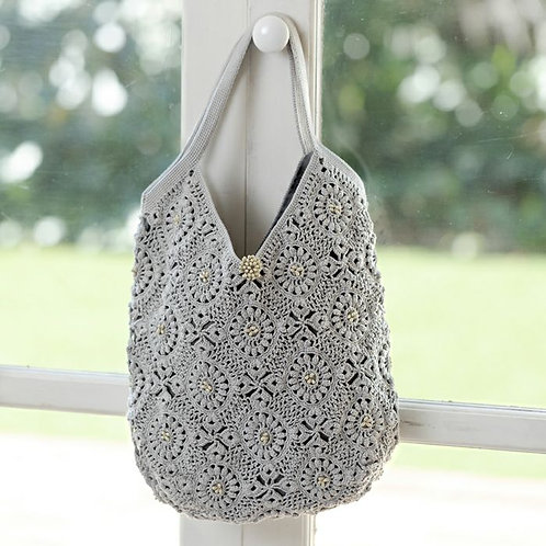 Antique Crochet Bag (Material Set) Yumi Inaba design