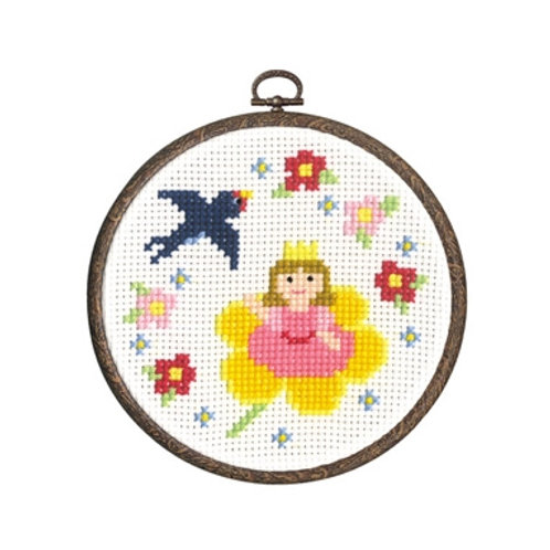 Thumb Princess Cross Stitch
