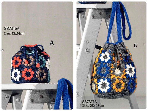 Crochet Bag Material Kit 16A & 17B
