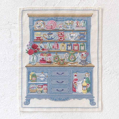 Cross Stitch Tapestry <Cupboard>