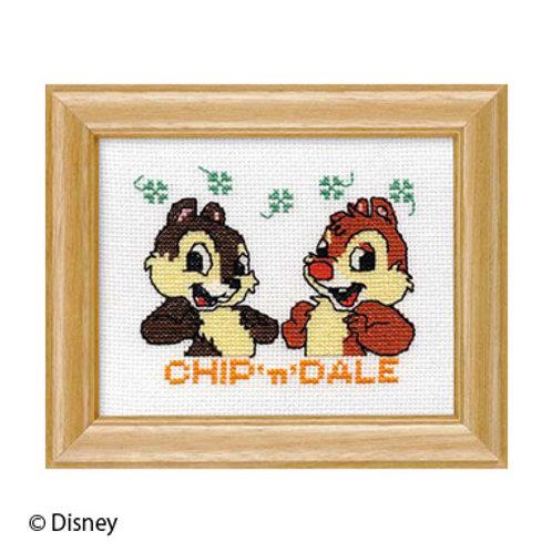 Chip 'n' Dale Cross Stitch