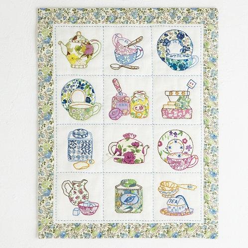 Appliqué Tapestry <Tea Salon>