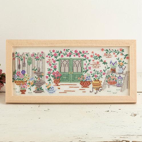 Cross Stitch Frame <Rose Garden>
