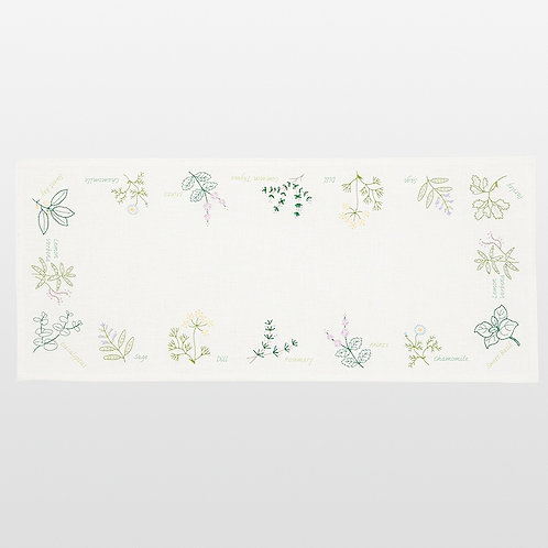 Table Runner <Green Herb>
