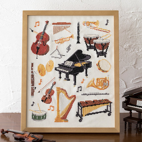 Cross Stitch Frame <Orchestra>