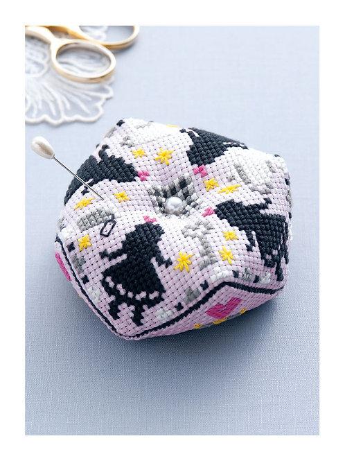 Alice Cross Stitch Pin Cushion