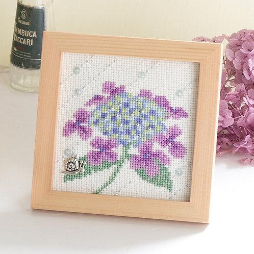 Cross Stitch Mini Frame <After the Rain>