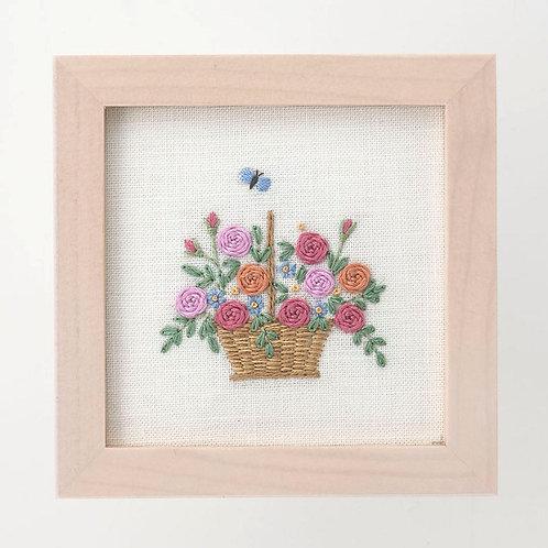 Mini Frame <Rose Basket>