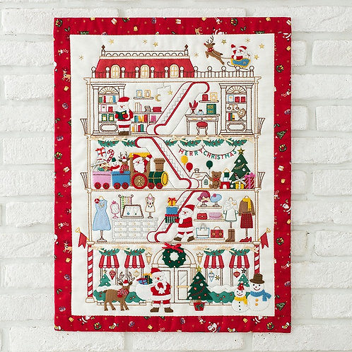 Appliqué Tapestry <Christmas>