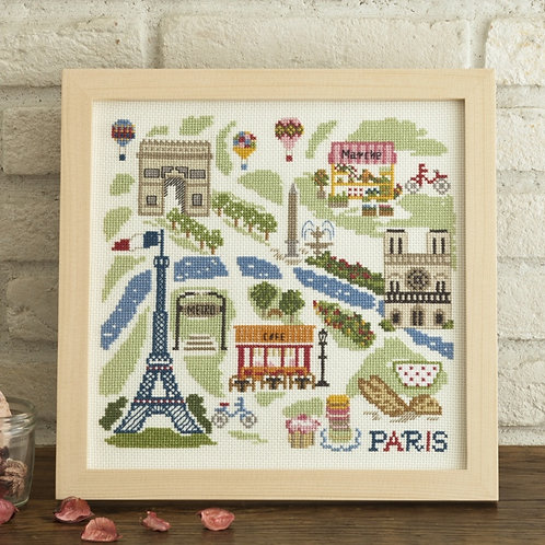 City of Paris Cross Stitch