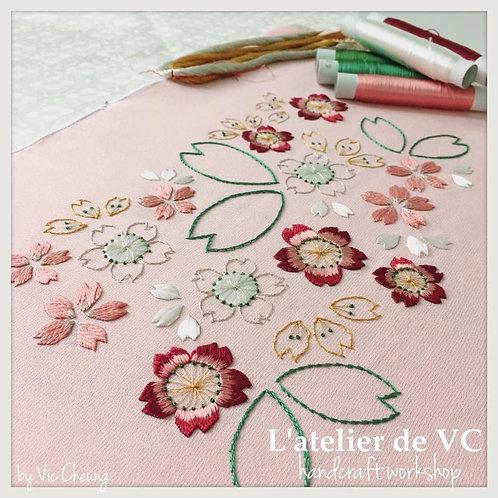 Sakura - Japanese Embroidery Fundamental Course