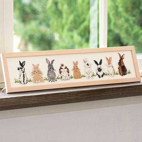 Cross Stitch Frame <Rabbit>