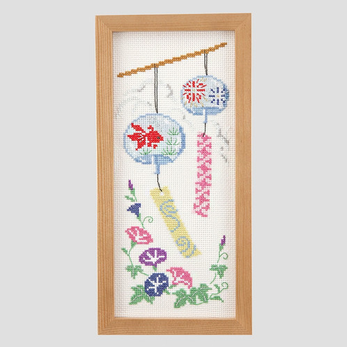 Cross Stitch Frame <Wind Chimes>