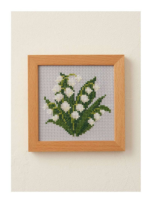 Cross Stitch Frame <Lily of the Valley>