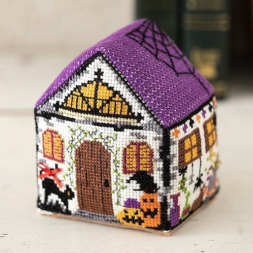 Cross Stitch House <Halloween>