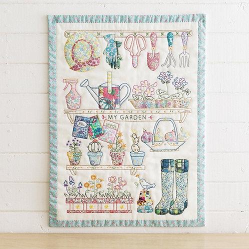 Appliqué Tapestry <My Garden>