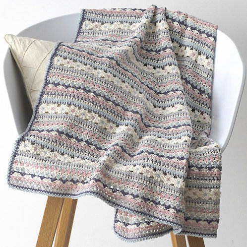 Crochet Blanket Material Kit