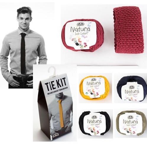 DMC Crochet Tie Kit