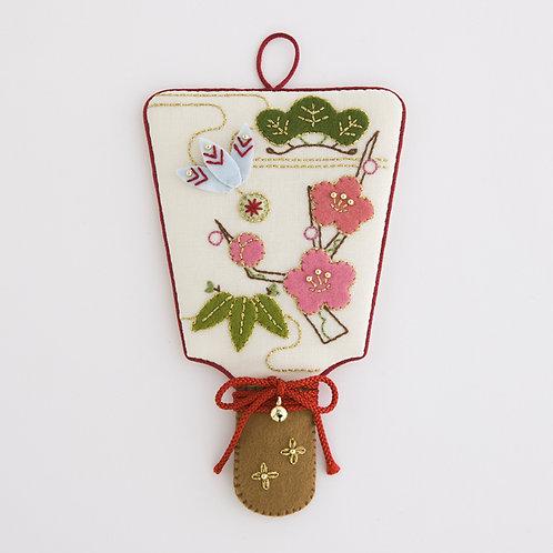New Year Fan Tapestry